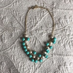 J crew torquoise necklace